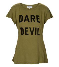 T-shirt Dare Devil vintage Wild Fox