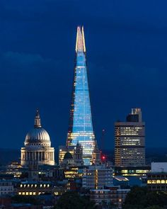 St. Paul´s & The Shard. London.-