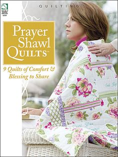 Quilted Prayer shawl. Love this gift idea!