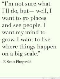 I want my mind to grow.... ~ #quote