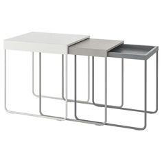 GRANBODA Stoliki, 3 szt. - IKEA