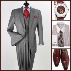 SUNDAY/SPECIAL OCCASION STYLE: Apollo King(Suit)-Vincero(Watch)-Paul Fredrick(Shirt Tie Option)-G&G(Shoes)