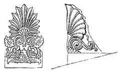 Abacus - a large slab placed above the column capital to support the architrave or an arch placed above it. Akroterion - a. Architecture Classique, Column Capital, History Encyclopedia, Roman Columns, Architrave, Classical Architecture, Acanthus, Ancient History, Google Search