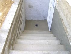 Basement entrance   fit their style when your basement entrance is complete  the only thing  Stairs separate entrance to the basement   Home aspiration  . Exterior Basement Entrance. Home Design Ideas