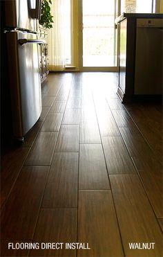 54 best Wood-look Tile Flooring images on Pinterest | Wood look tile ...