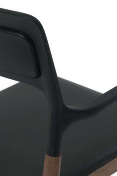 Florinda Soft stacking chair by Monica Förster Design Studio for De Padova.