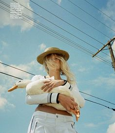 """Free Field"" Maggie Laine for ELLE France June 2015"