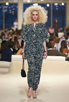 Chanel cruise collection 2015 in Dubai