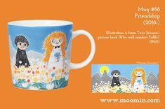Moomin mug # 88 Moomin Mugs, Tove Jansson, New Friendship, Finland, Tea Pots, Original Artwork, History, Tableware, Illustration
