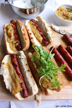 These Seattle Drunk Dogs are a tribute to the late night food vendors on the streets of my beloved city. Great recipe for 4th of July!
