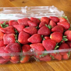 How to make strawberries last longer?  Use a little vinegar. It really helps!