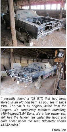 Gtx Barn Find Dpep Lost And Found