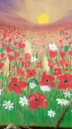 Poppy Images, Red Poppies, Kids, Art, Pictures, Young Children, Art Background, Boys, Kunst