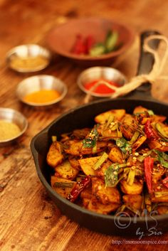 Monsoon Spice | Unveil the Magic of Spices...: Aloo-Guvar Subji Recipe | Spicy Potato & Cluster Beans Curry