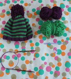 db2d24354 Knit by Bit  free baby hat knitting pattern. Ganchillo BebeRopa ...