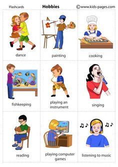 Hobbies 1 flashcard