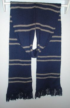 HP Ravenclaw free crochet scarf pattern. Links for other house ...