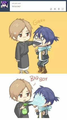 Yato and Father ♡ from Noragami | Noragami | Pinterest | Noragami ...