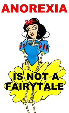 """Humor Chic: Humor Chic Body & Health - Snow White """"Anorexia is not a Fairytale"""" by aleXsandro Palombo"""
