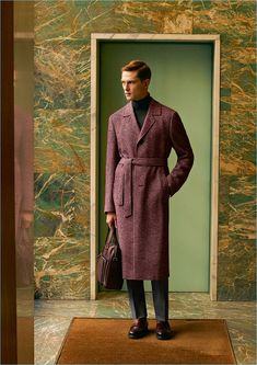 Donning a sleek coat, Mathias Lauridsen connects with Canali for fall-winter Nelson Mandela, Napoleon, Albert Schweitzer, Mens Fashion Sweaters, Cyberpunk Fashion, Next Clothes, Gentleman Style, Autumn Winter Fashion, Fall Winter