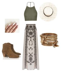 A fashion look from May 2016 featuring crop tops, Temperley London and strappy heeled sandals. Browse and shop related looks. Alexander Mcqueen, Lucky Brand, Lace Skirt, Urban Outfitters, Polyvore, Topshop, Fashion Looks, Two Piece Skirt Set, Temperley