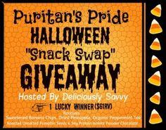 """Puritan's Pride Halloween """"Snack Swap"""" Giveaway!"""