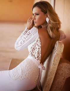 Wedding Dress by Julie Vino Fall 2014