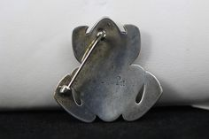 Spectacular RARE Vintage JAMES AVERY Sterling Silver Overlay FROG Brooch / Pin   Good Ole Tom