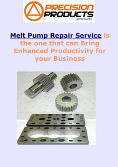 #MeltPumpRepair Service is the one that can Bring Enhanced Productivity for your Business