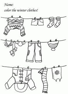 worksheet clothes - Google zoeken