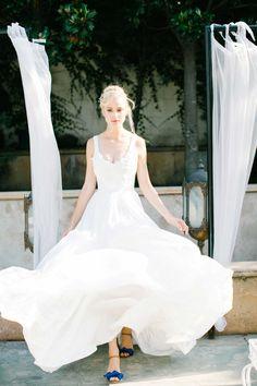 #Hochzeit: #Brautkleid von niquie