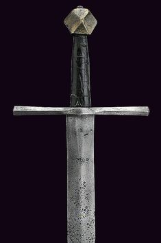 A knightly sword, dating: mid-14th Century  provenance: France