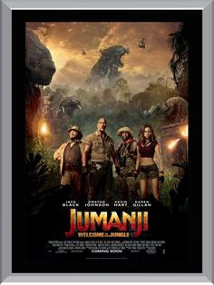 $9.95 AUD - Jumanji - Welcome To The Jungle A1 To A4 Size Poster Prints #ebay #Collectibles