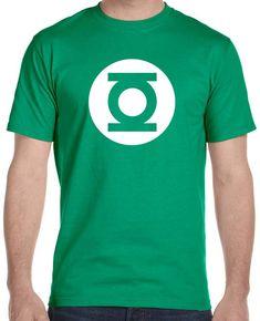 Green Lantern  T-Shirt, Sheldon Cooper by tshirts101 on Etsy