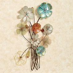 Floral Metal Wall Art gerber daisy | all about me | pinterest | metal flower wall art