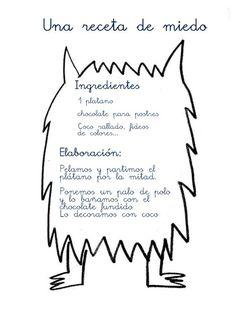 """1ª Sesión: Presentación del miedo y del color negro. Leemos la parte correspondiente al miedo del libro """"El monstruo de colores"""". ..."""