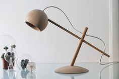The Lune Lamp, designed by Norwegian Sverre Uhnger