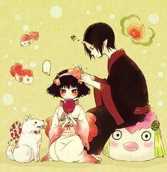 Hoozuki & Peach Maki | Hoozuki no Reitetsu #anime