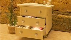 Miniature Sideboard Tutorial