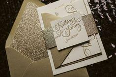 Beautiful, Affordable Letterpress Wedding Invitations. Featured Designer: Jupiter and Juno