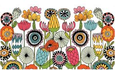 Flowers by Lisa Congdon