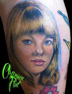 portrait tattoo by Chanuen Flint