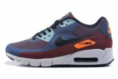 Basketball Shoes, Orange, Nike Air Max 90s, Men, Air Maxes, Shoes Outlet,  Blue, Basketball Sneakers