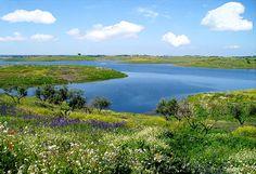 Alentejo - alqueva- grande lago