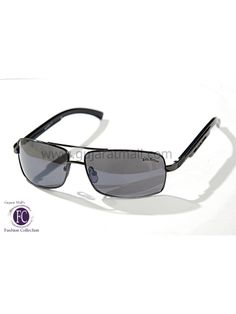 Buy Designer Sunglasses Classy Designer Wear Gunmetal Metallic Frame Gray Lens • GujaratMall.com