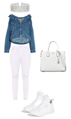 A fashion look from February 2018 featuring oversized jean jacket, white jeans and high top shoes. Browse and shop related looks. Fashion Killa, Women's Fashion, Fashion Outfits, Outfit Goals, Outfit Ideas, Stylish Outfits, Cute Outfits, Dark Skin Boys, Military Diet