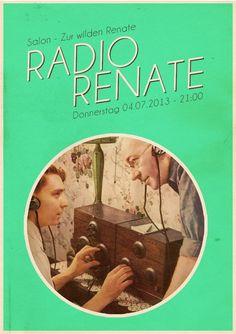 Radio Renate   Salon Zur Wilden Renate   Berlin   https://beatguide.me/berlin/event/salon-zur-wilden-renate-radio-renate-20130704