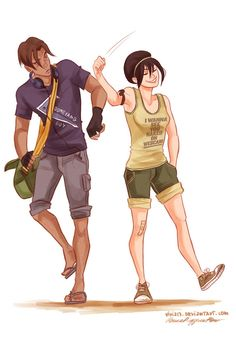 geek&disorderly — can we just start a fandom for this girl's art?