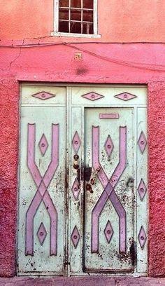 Marrakech, Morocco door.