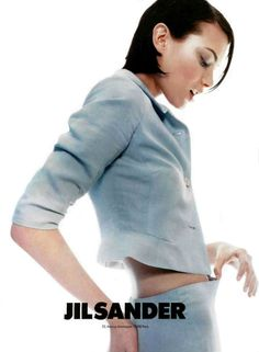 Shalom Harlow for Jill Sander S/S 1996 campaign, ph. by Craig McDean